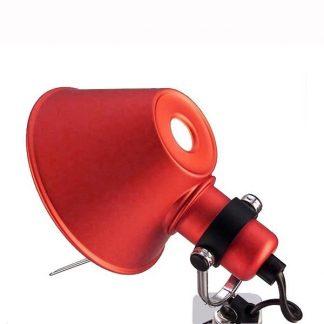 Artemide Tolomeo Micro Pinza Væglampe klemme Rød
