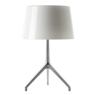 Foscarini Lumiere xxl Bordlampe Hvid Aluminium