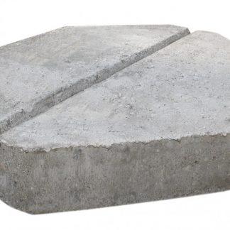 Knækfliser Grå 55x40x7