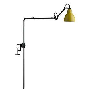Lampe Gras N226 Væglampe Mat Sort & Mat Gul