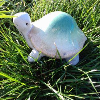 Lille skildpadde. Højde 9 cm