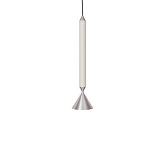 Pholc APOLLO 39 Pendel Hvid/Poleret Aluminium