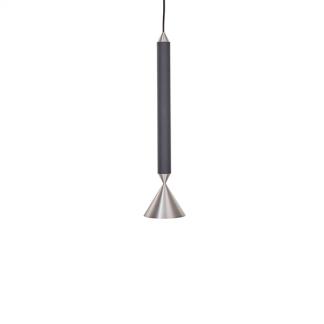 Pholc APOLLO 39 Pendel Sort/Poleret Aluminium