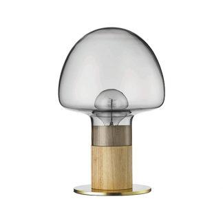 WATT A LAMP Mush Bordlampe Røget/Transparent