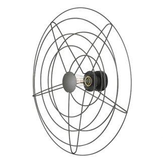 WATT A LAMP Radio Væglampe Stor Mørkegrå