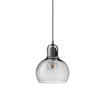 &tradition Mega Bulb SR2 Pendel Sølv M. Sort Ledning