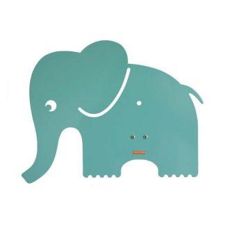 roommate Elefant Silhuetlampe Væglampe Blå/Grøn