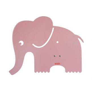 roommate Elefant Silhuetlampe Væglampe Lyserød
