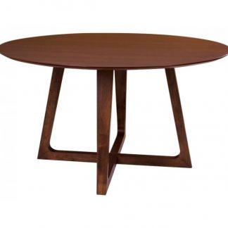 Hellerup Rundt Spisebord H76 x Ø137 cm - Valnød