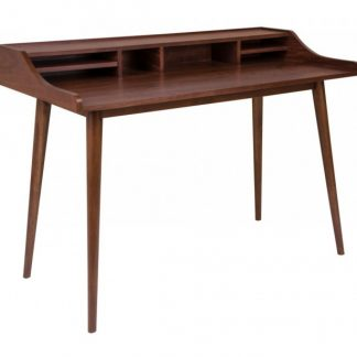 Hellerup Skrivebord 120 x 60 cm - Valnød