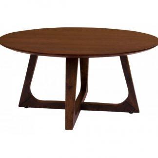 Hellerup Sofabord H36 x Ø75 cm - Valnød
