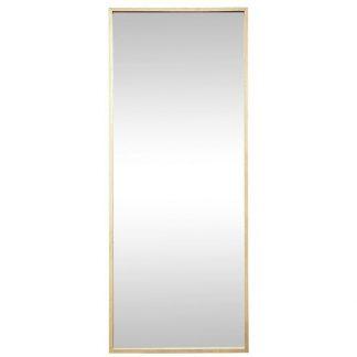 Spejl, egetræ, natur, x-large grå
