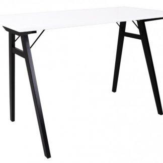 Vojens Skrivebord 120 x 60 cm - Sort/Hvid