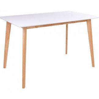 Vojens Spisebord 120 x 70 cm - Natur/Hvid