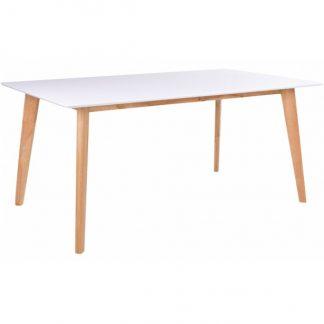 Vojens Spisebord 150 x 90 cm - Natur/Hvid