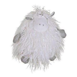 Hvid stof dyr (40 cm. ) fra SIA