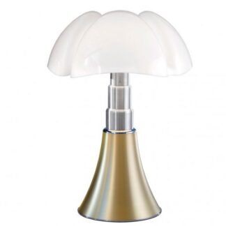 Martinelli Luce Pipistrello Bordlampe 1965 Messing