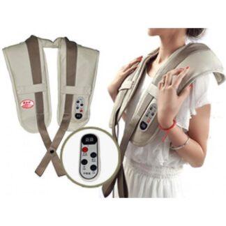 Shiatsu massageapparat til skulder/nakke (med flere funktioner)