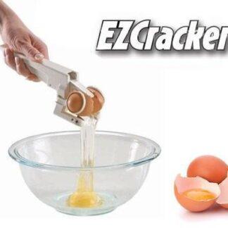 Undgå æggeskaller i maden med den smarte EZ-Cracker
