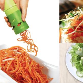 "Veggie Twister - den sunde måde at lave ""spaghetti"""