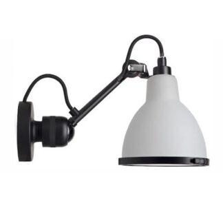 Lampe Gras No 304 Væglampe Badeværelse, sort/polycarbonat