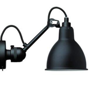 Lampe Gras No 304SW væglampe, sort