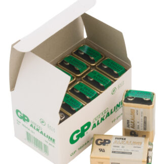 10 stk. GP 9V Super Alkaline batterier
