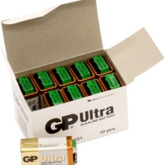 100 STK. GP 9 V Ultra batterier