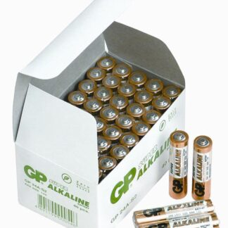 40 stk.GP AAA Super Alkaline batterier / LR03