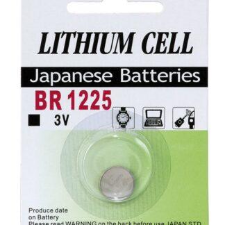 BR 1225 3 Volt Lithium batteri