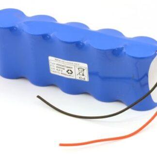 Batteripakke til nødbelysning 6,0volt 4500mAh. Cd