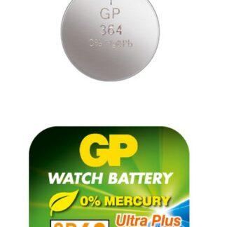 GP 364 A1 - SR621SW - 1,55 V Silver Oxide batteri