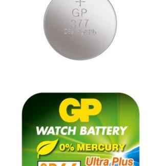 GP 377 A1 - SR626SW - 1,55 V Silver Oxide batteri