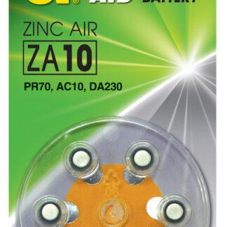 GP ZA10 1,4 V batterier