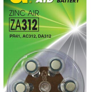 GP ZA312 1,4 V batterier