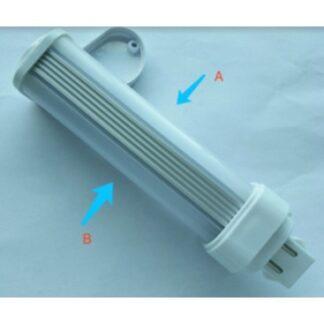 LEDlife G24D LED pære - 5W, 240°, mat glas, Kulør: Varm