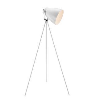 Largo hvid gulvlampe