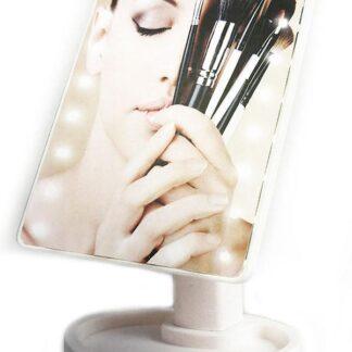 Make-Up Spejl med Touch Screen og LED-lys