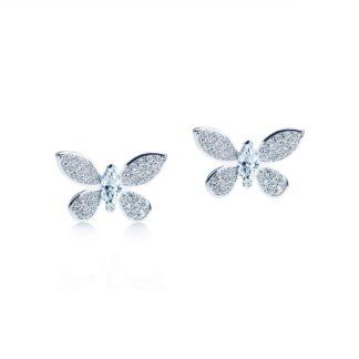 Oxford butterfly øreringe