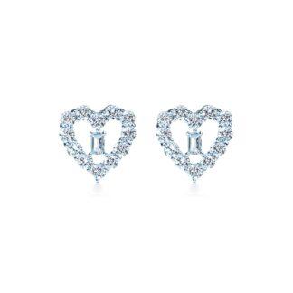 Oxford heart øreringe