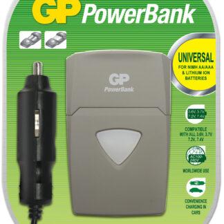 Universallader til kamera og AA/AAA batterier