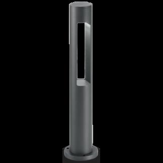ACQUA Bedlampe i aluminium og glas H60 cm 1 x G9 - Antracit/Klar