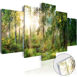 Artgeist billede - Green Sanctuary på plexiglas, to størrelser 100x50