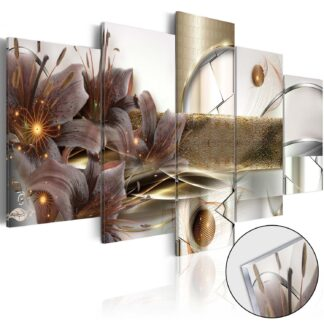 Artgeist billede - The Garden of Space, på plexiglas 100x50