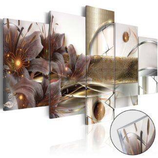 Artgeist billede - The Garden of Space, på plexiglas 200x100