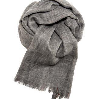 Blødt dobbeltsidet tørklæde