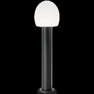 CONCERTO Bedlampe i aluminium og plast H83,5 cm 1 x E27 - Sort/Hvid