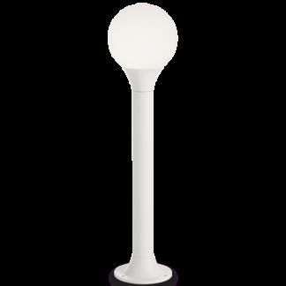 GREEN Bedlampe i aluminium og polycarbonat H80 cm 1 x E27 - Hvid/Hvid