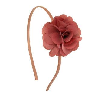 Hårbøjle Blomst Antik Pink