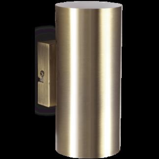 HOT Væglampe i metal H18 cm 2 x GU10 - Antik messing